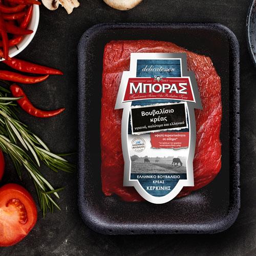 ΜΠΟΡΑΣ Βουβαλίσιο κρέας