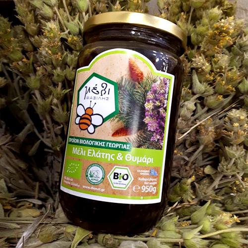 ΦΑΣΙΛΗΣ μέλι Ελάτης-Θυμάρι