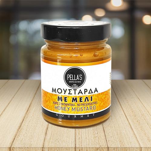 PELLA'S μουστάρδα με μέλι